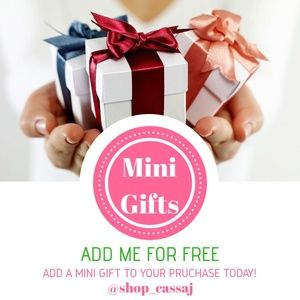 🆓🎁ADD A MINI GIFT TO YOUR BUNDLE🆓🎁